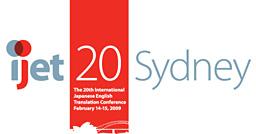 IJET Conference, Sydney 2009