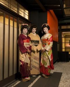 Geisha Standing